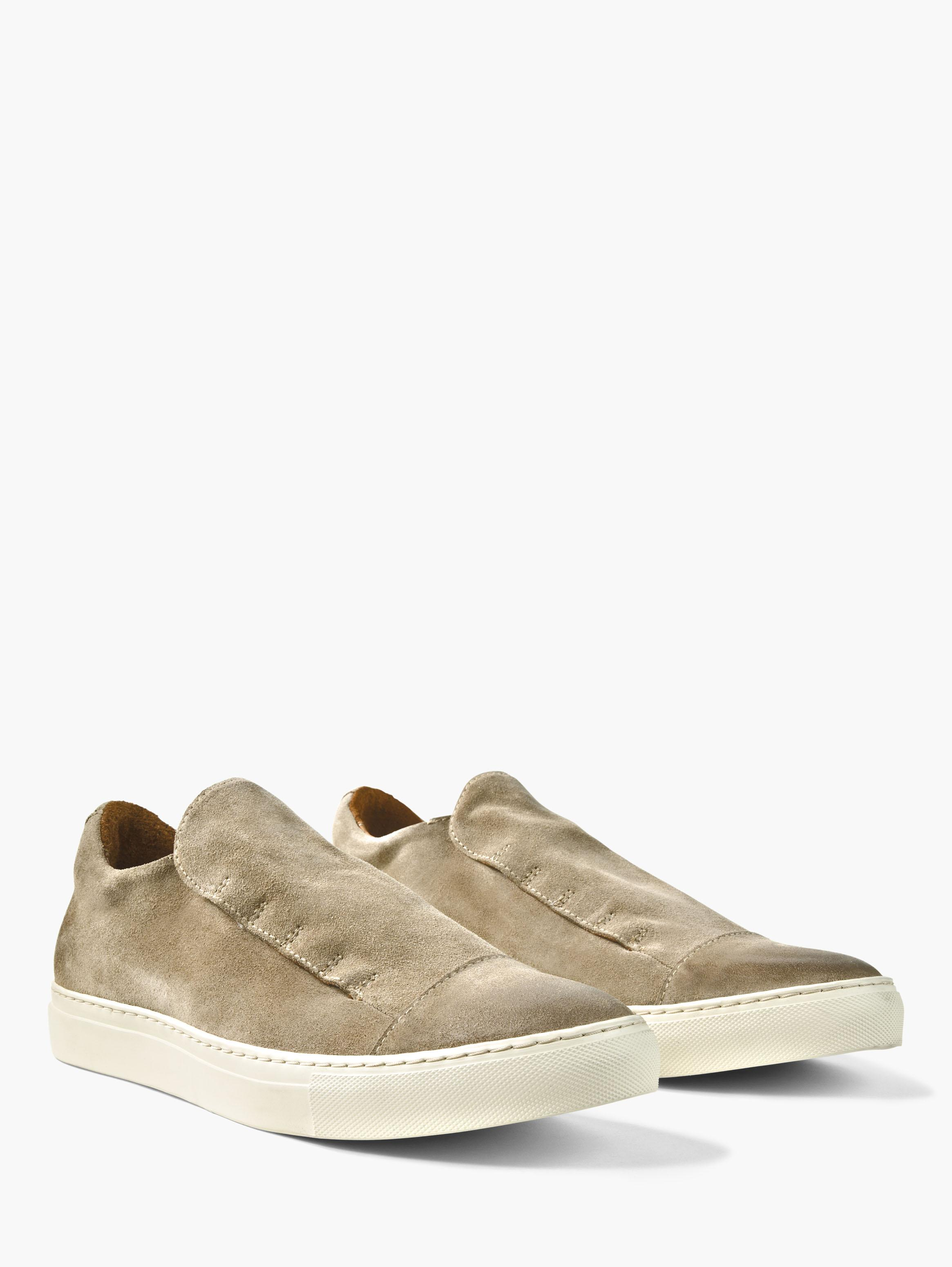 Reed Laceless Suede Slip On
