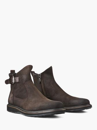 Brooklyn Lug Zip Boot
