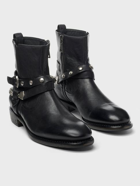 HERITAGE DOUBLE BELT ZIP BOOT