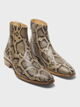 LEWIS SLANT ZIP BOOT