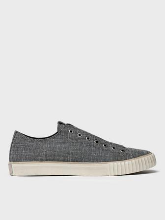 BLENDED FABRIC LOW TOP