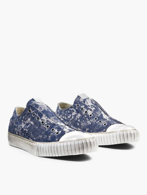 ABSTRACT CAMO JACQUARD LOW TOP
