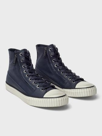 Coated Linen High Top