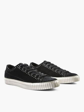 Suede Studded Low-Top 681daa2cb