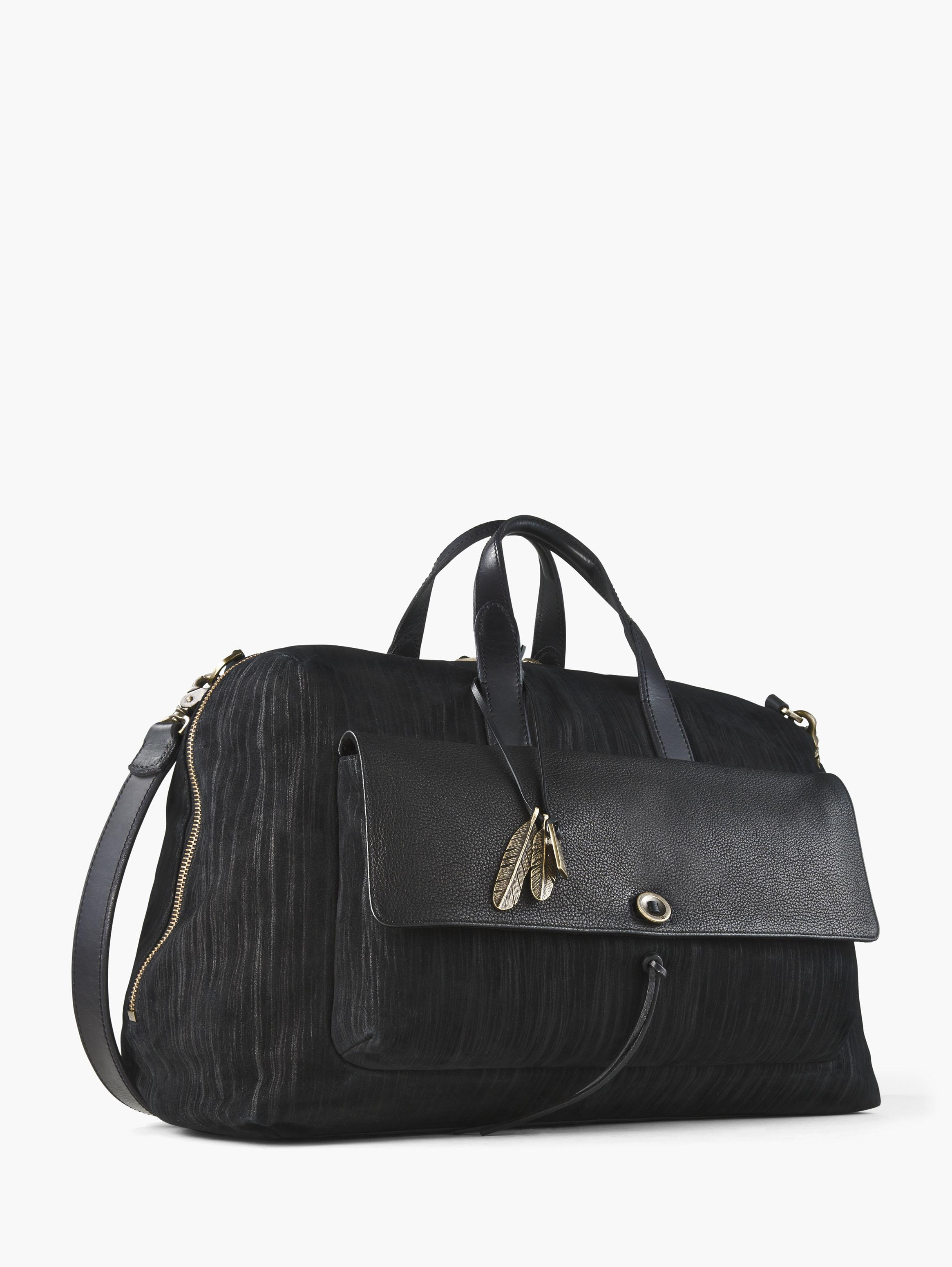 PAINTED PINSTRIPE DUFFLE