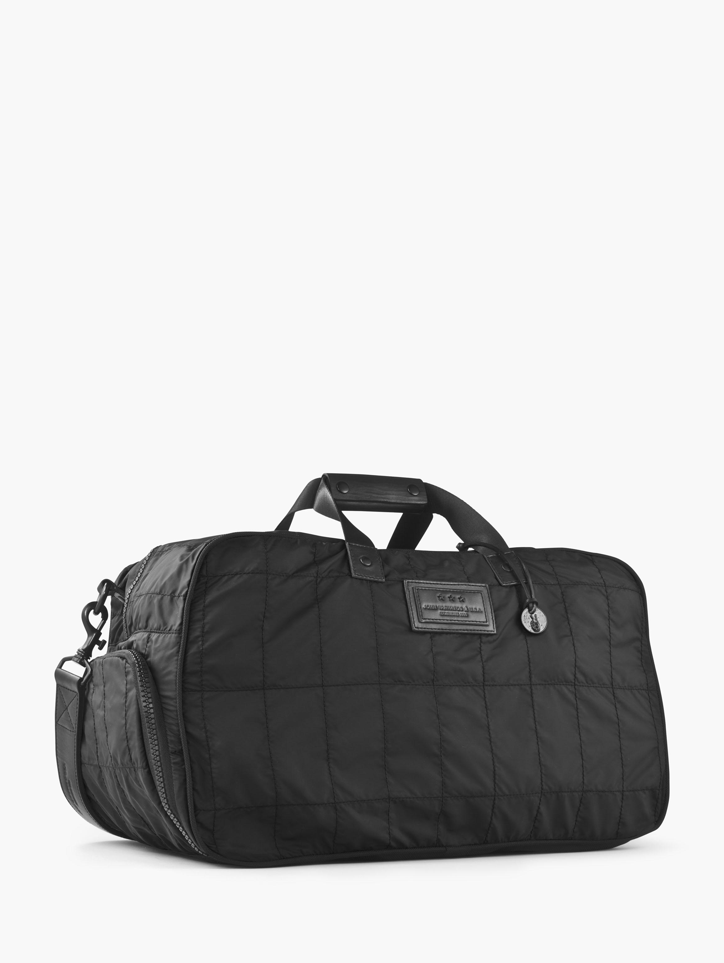 Quilted Nylon Duffle