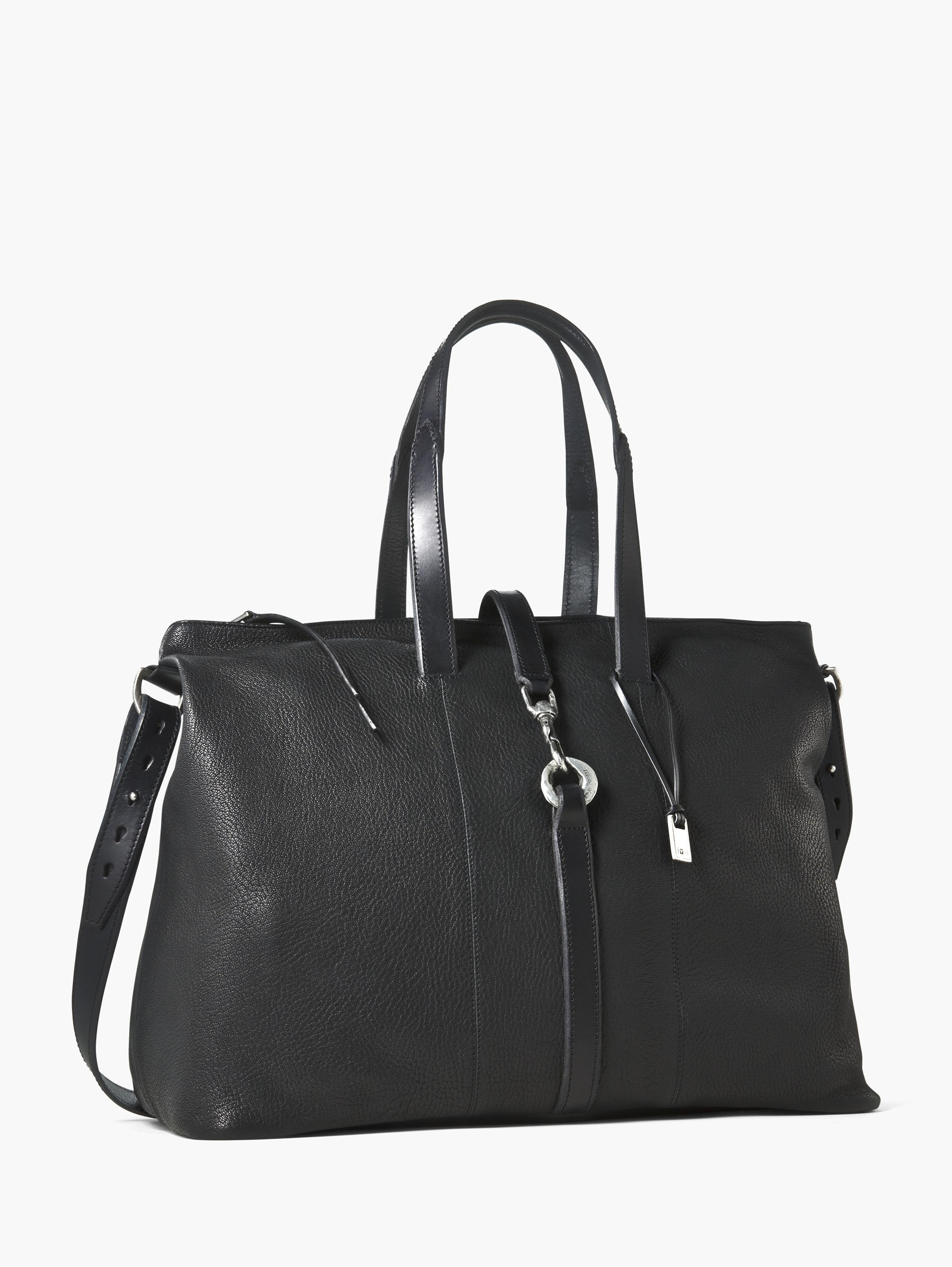 Pebbled Leather Wrangler Shopper