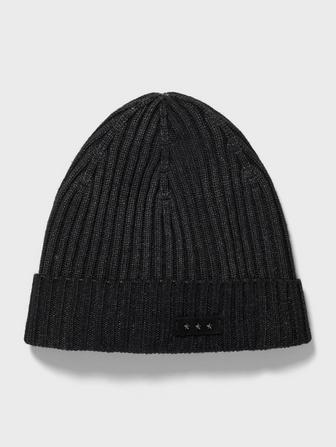 Acid Wash Ribbed Beanie