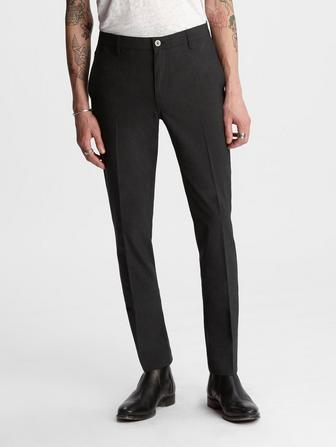 Slim Fit Wool Pant