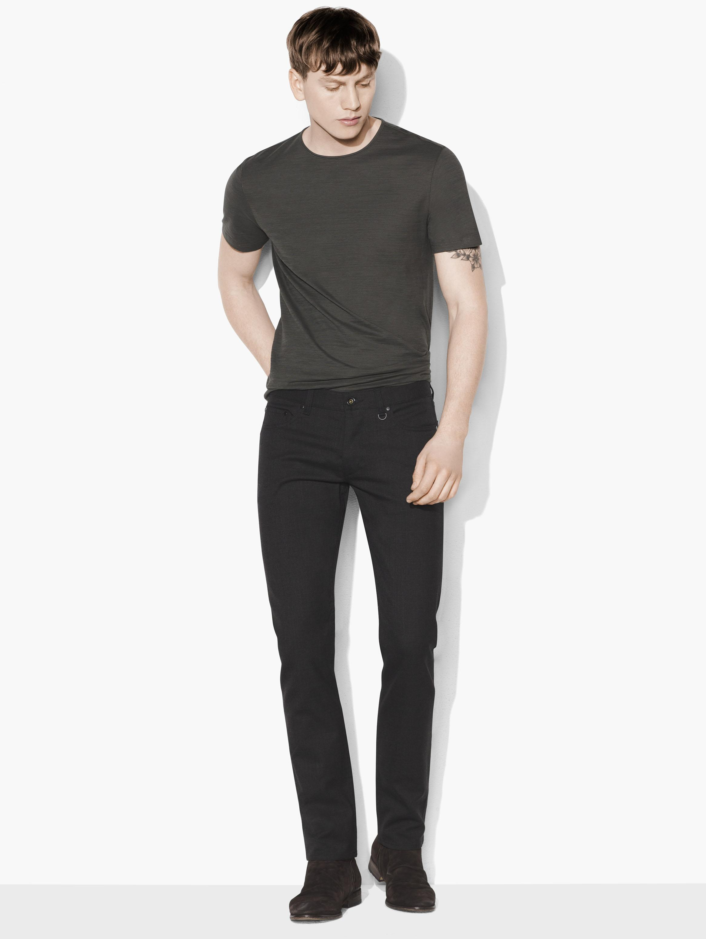 Virgin Wool & Cotton Stretch Chelsea Jean