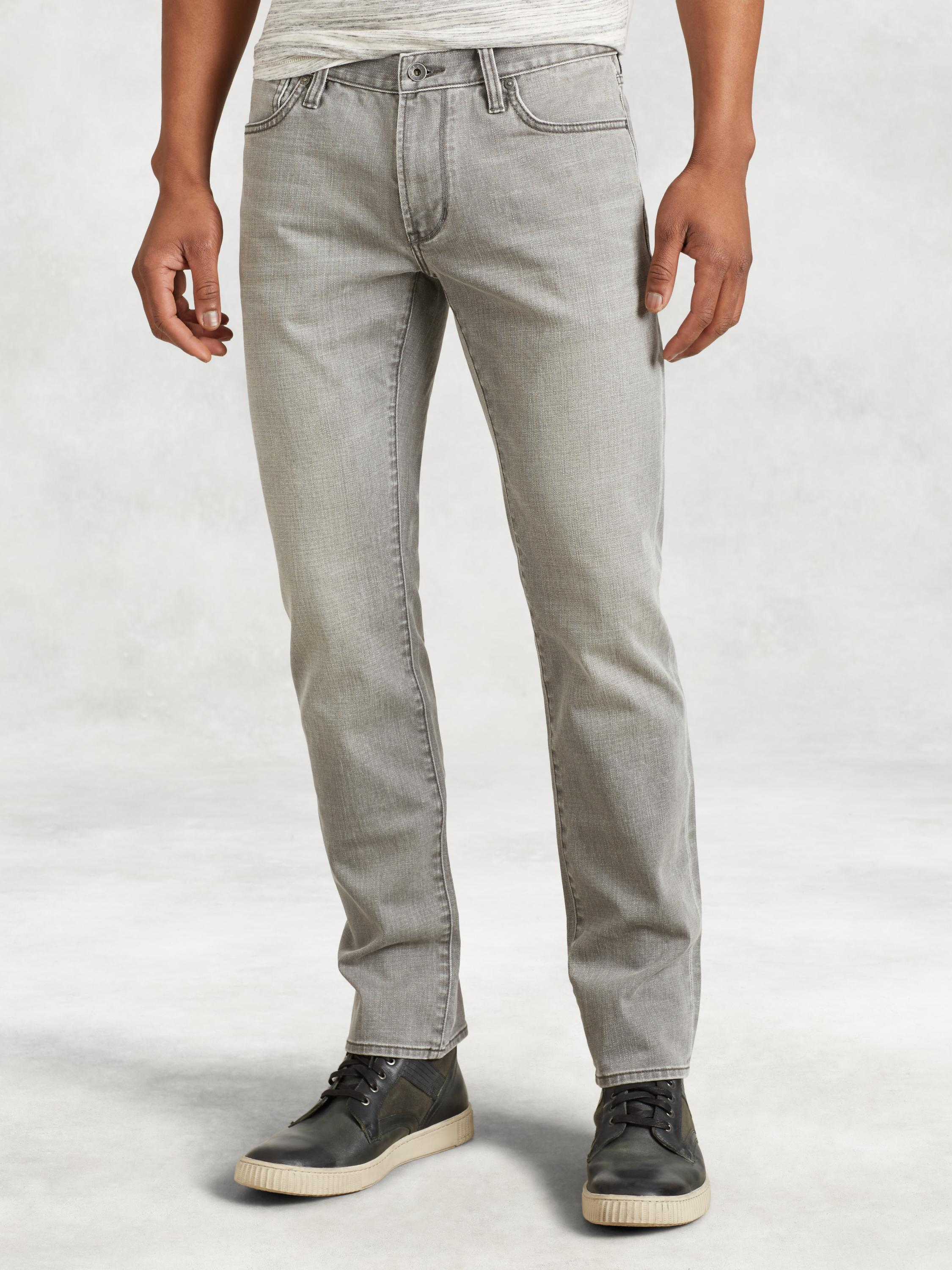 Stonewashed Cotton Bowery Jean