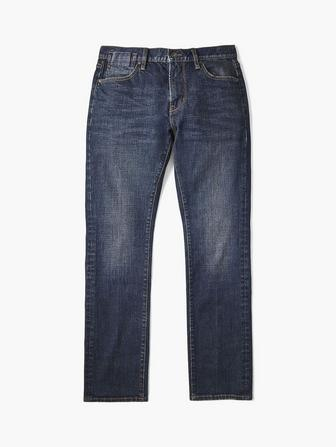 Creased Front Bowery Jean