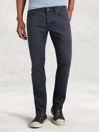 Wight Coated Cotton Jean