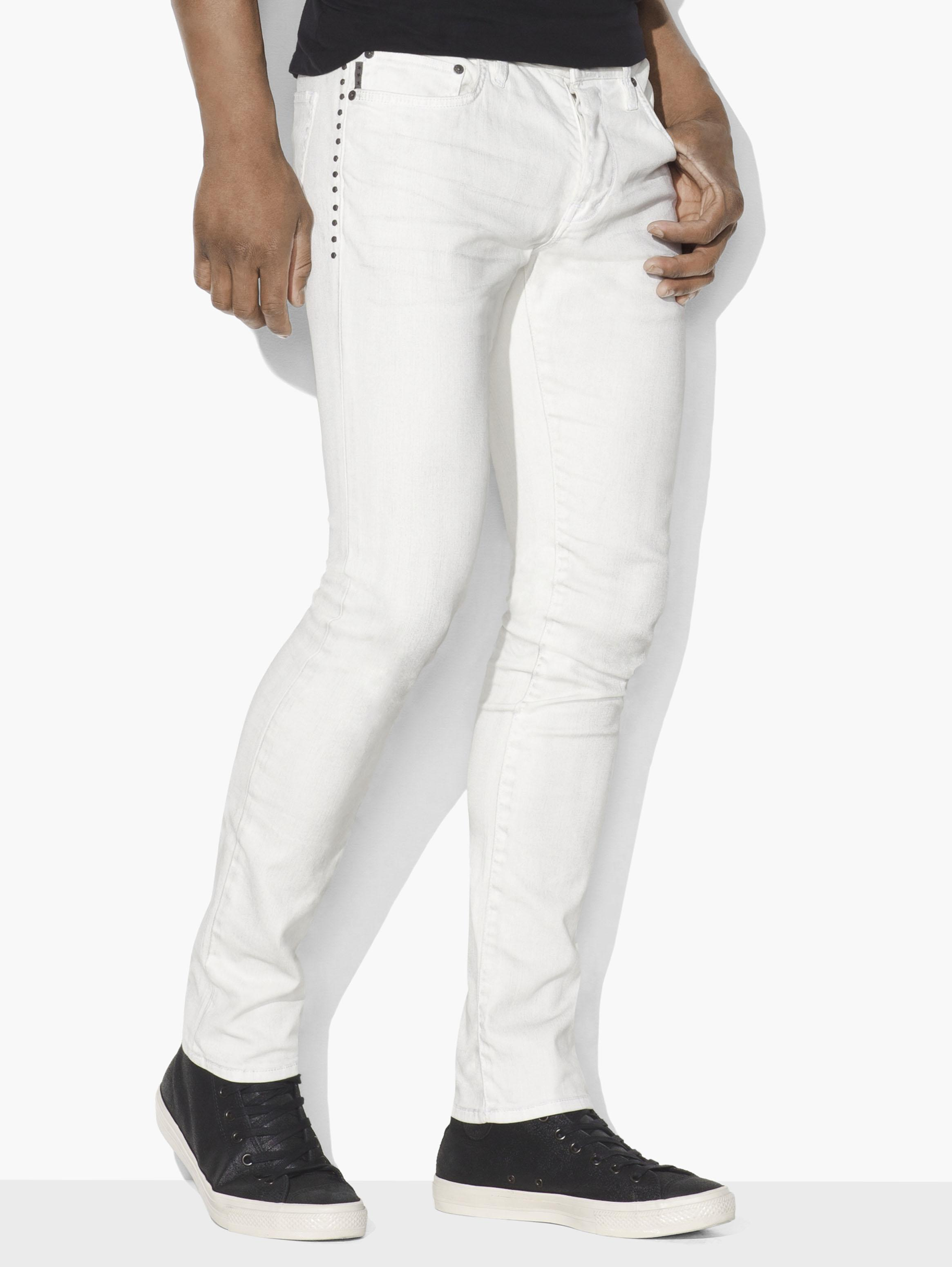 Studded Wight Jean