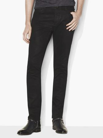 CHELSEA FIT BUTTON  FLY ULTA SLIM FIT JEAN WITH ZI