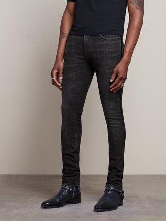 WIGHT FIT JEAN WITH VELVET TAPE