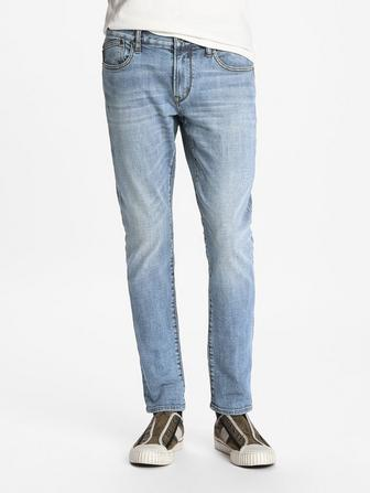 MATCHSTICK FIT JEAN ED WASH
