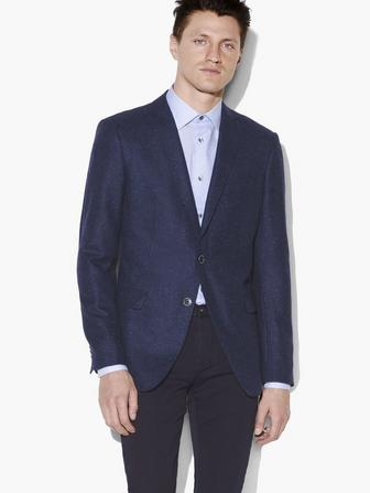 BLEEKER ST BASKETWEAVE KNIT SPORT COAT
