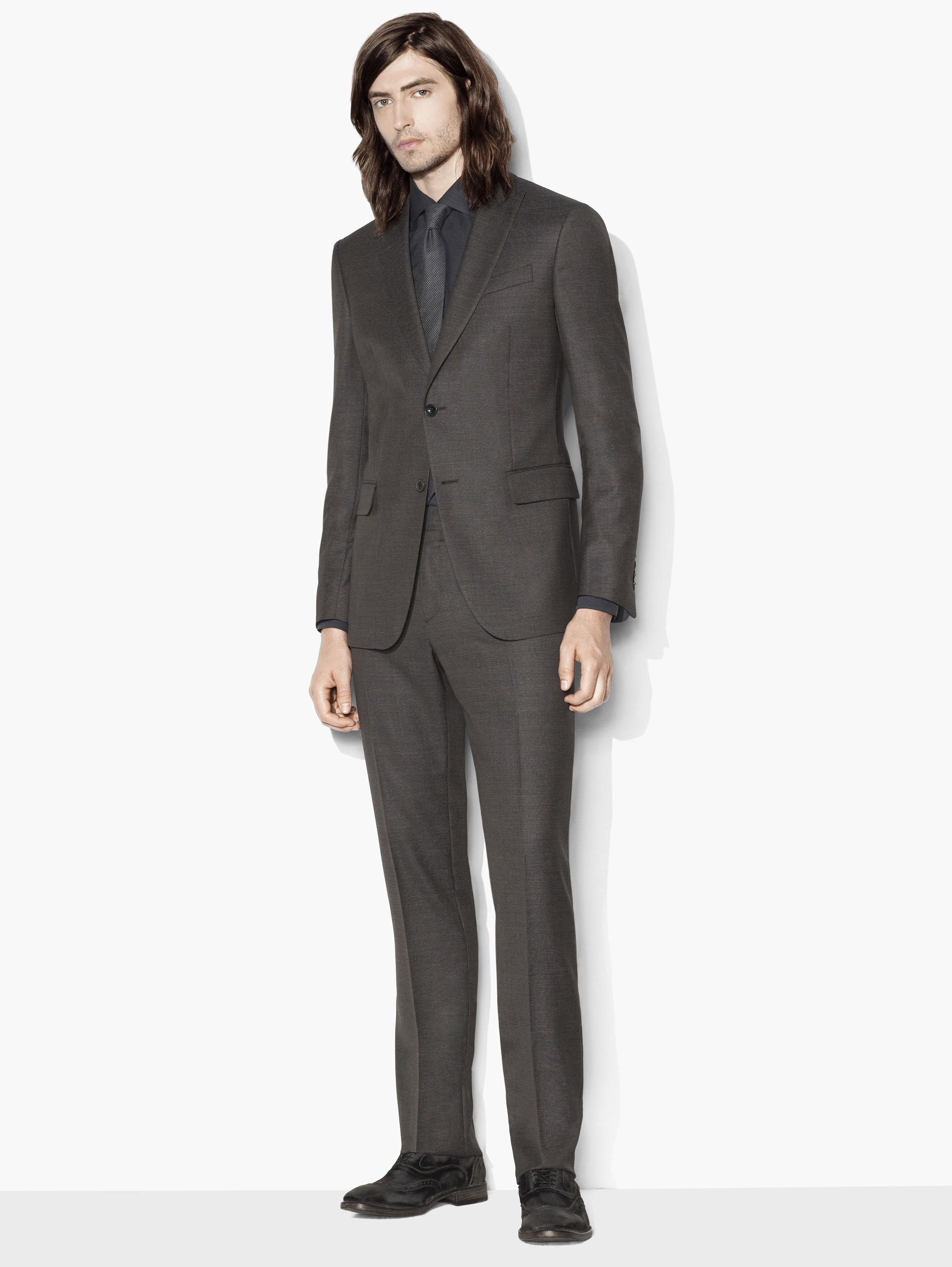 Hampton Birdseye Suit