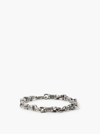 Silver Linked Bracelet