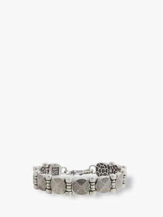 Silver Rivet Bracelet