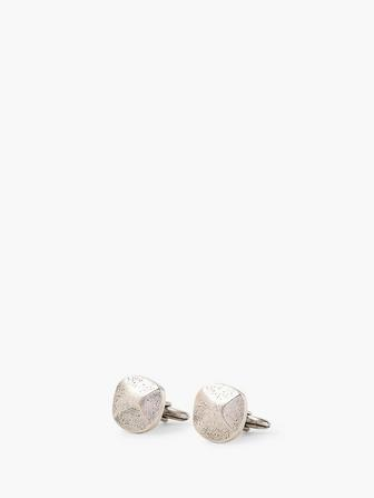 Silver Rivet Cufflinks