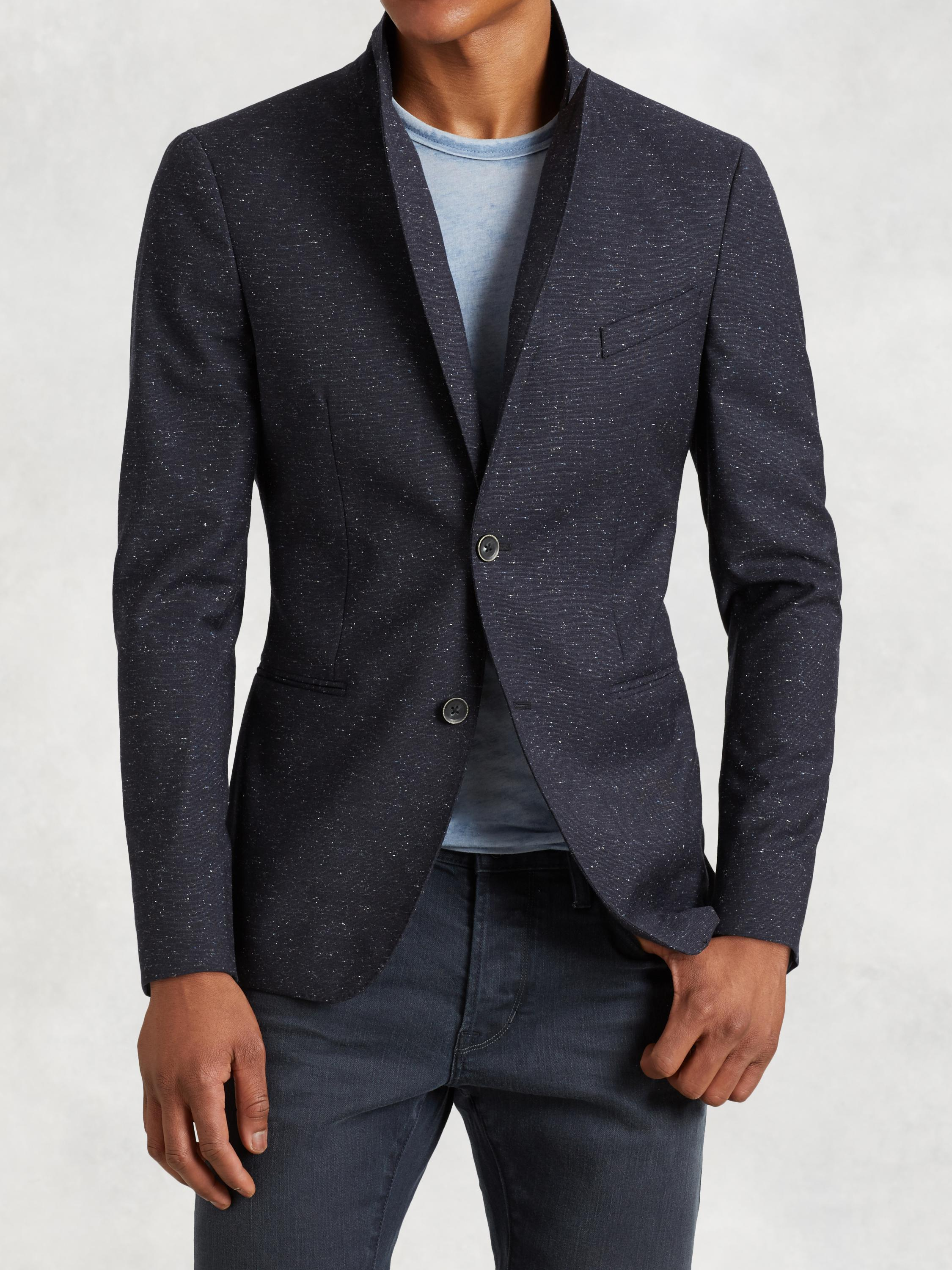 Peak Lapel Soft Jacket
