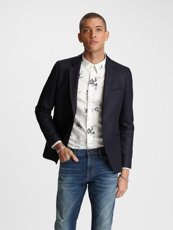 ERIK NOTCH LAPEL JACKET
