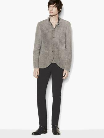 Contrast Collar Jacket