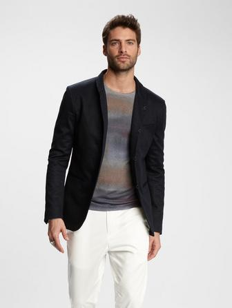 HOOK & BAR SHAWL COLLAR JACKET