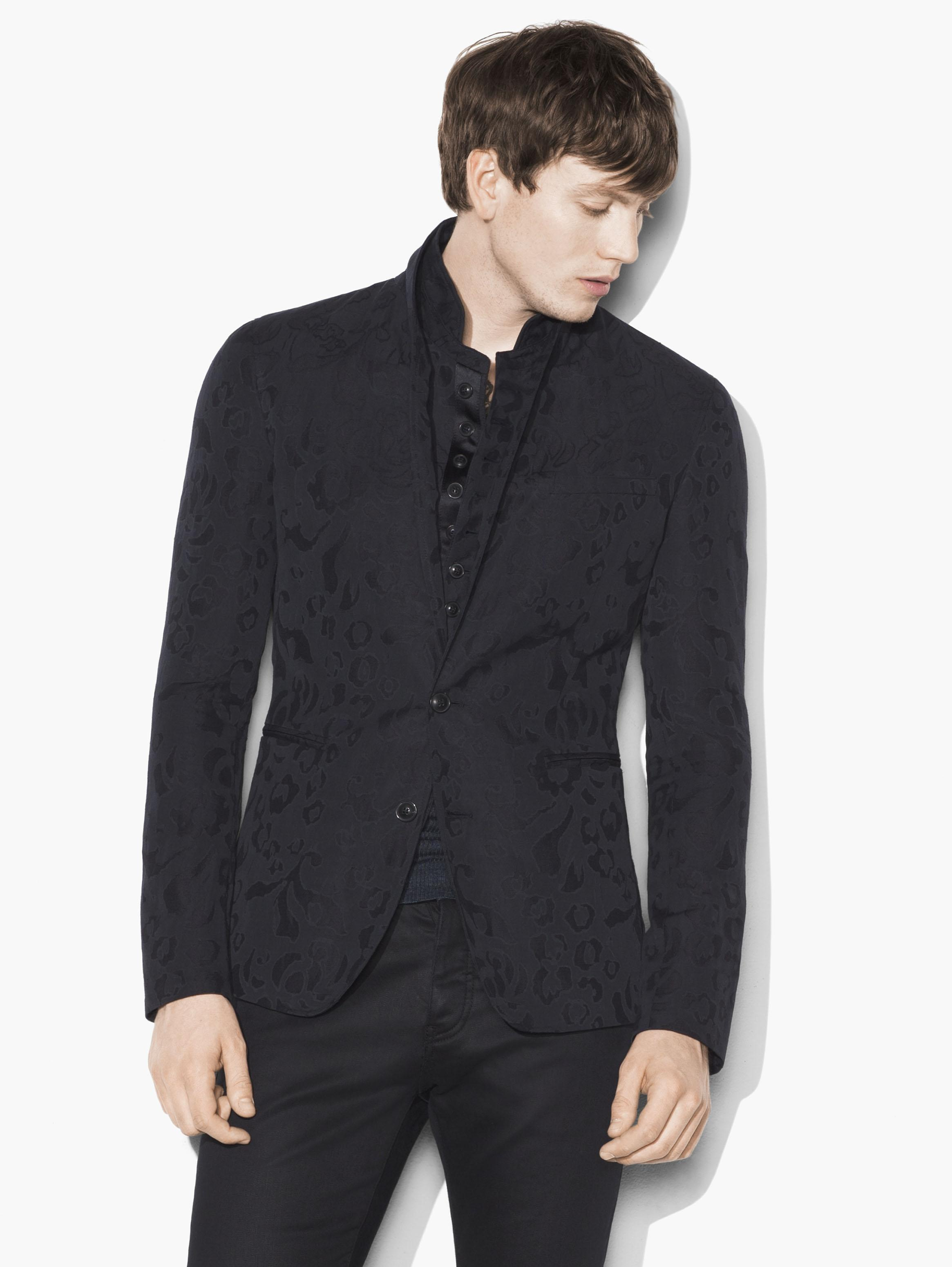 Rose Jacquard Jacket