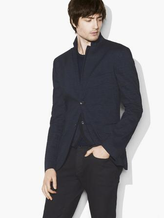 NOTCH-LAPEL JACKET