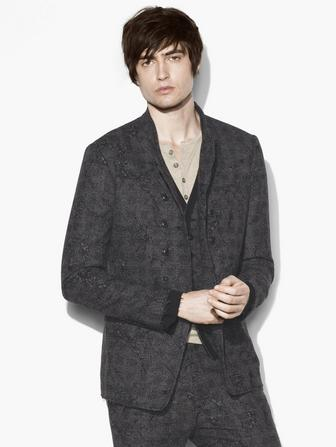 ABSTRACT JACQUARD JACKET