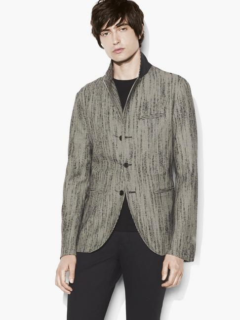 Deconstructed Houndstooth Jacket
