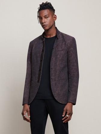 SLIM FIT MULTI-COLOR JACKET