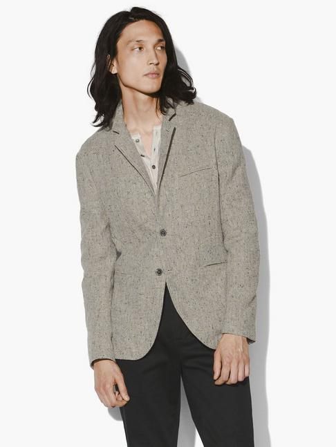 EASY FIT BUTTON FRONT CLOSURE JACKET