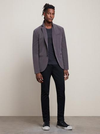 SLIM FIT 2-BUTTON JACKET