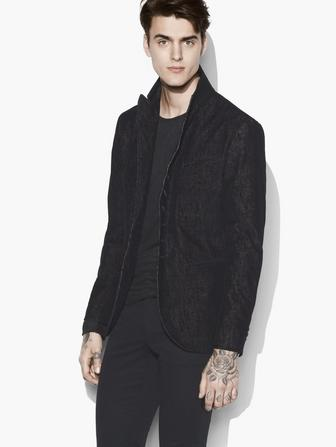 MULTI-BUTTON CORDUROY JACKET