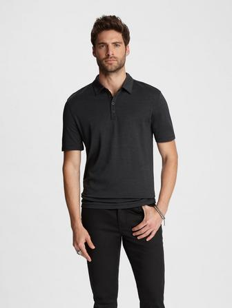 Silk Cotton Hampton Polo