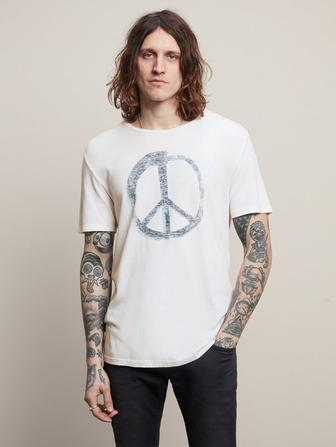 PEACE SYMBOL GRAPHIC TEE