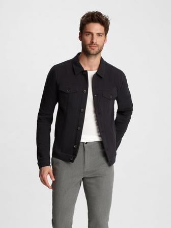 KNIT TRUKER JACKET
