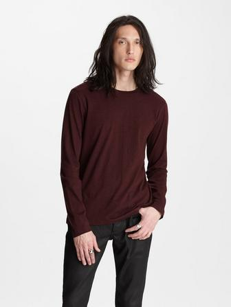 COTTON-CASHMERE CREW