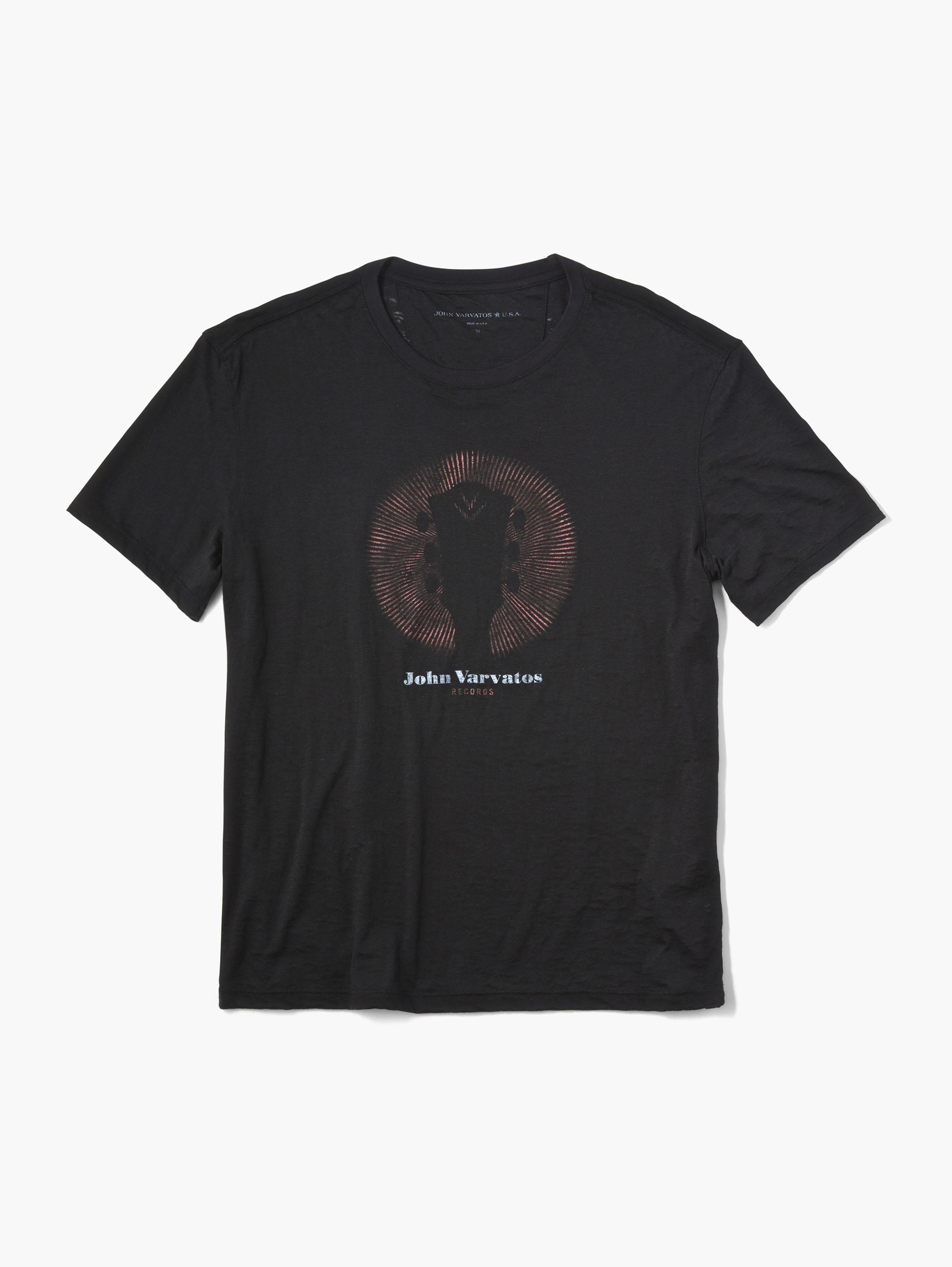 John Varvatos Records Tee