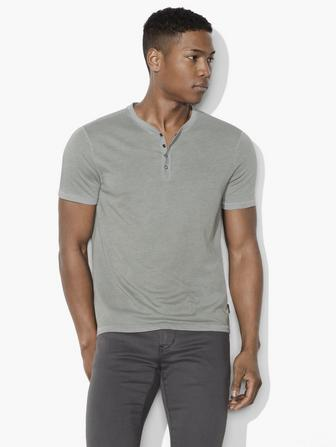 SNAP CLOSURE HENLEY