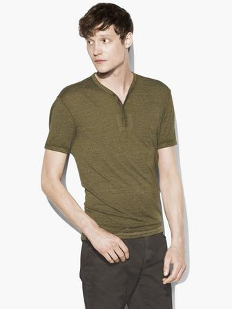 BURNOUT SNAP HENLEY