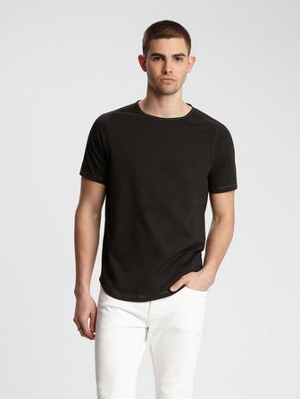 CONNOR CONTRAST STITCH TEE