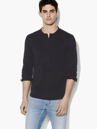HEATH BUTTON FRONT SHIRT