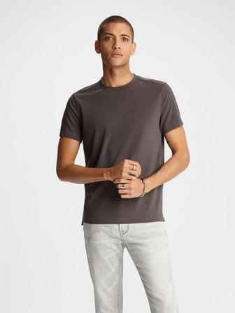 GRANT STRETCH COTTON CREW