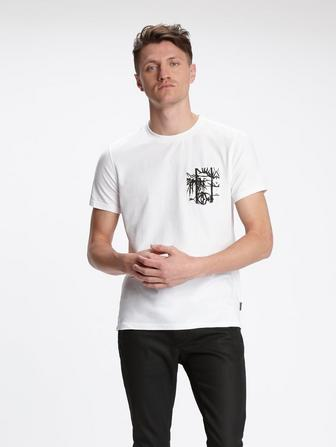 BAYFRONT PALM POCKET TEE