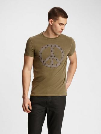 PEACE STAR FILL TEE